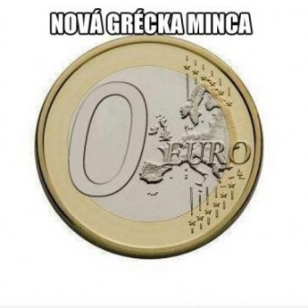 Nová grécka minca
