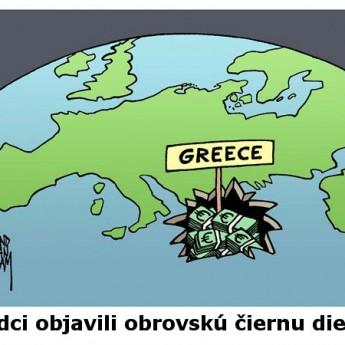 Čierna diera – Grécko
