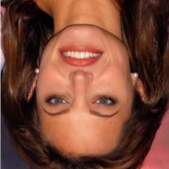 Pozrite sa na ňu dole hlavou