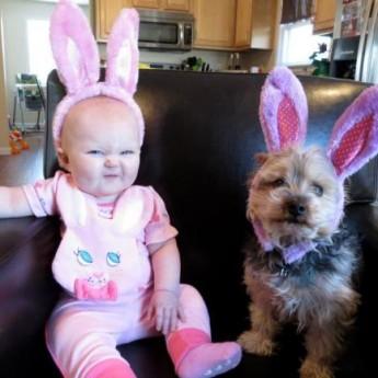 Veľkonoční zajačikovia :D