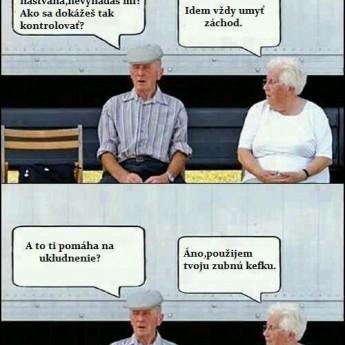Babka s dedkom :D