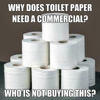 Reklamy na toaleťák?