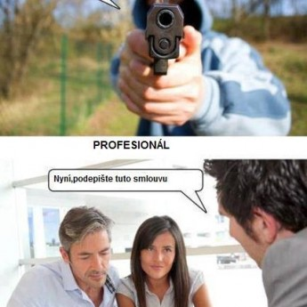 Typy zlodějů