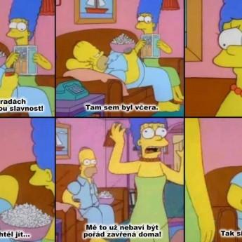 Marge má toho dosť