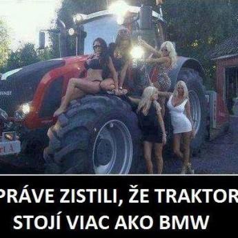 Traktor vs. BMW