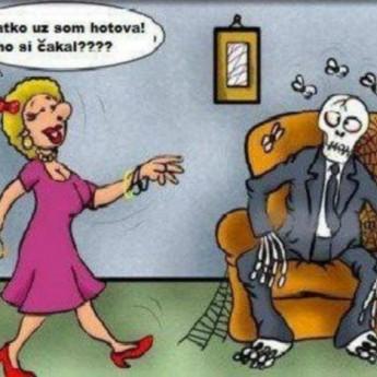 Čakanie na ženu