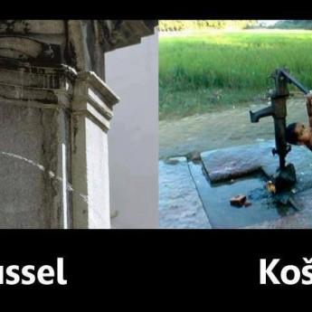 Brusel vs. Košice