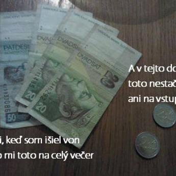 Peniaze kedysi a dnes