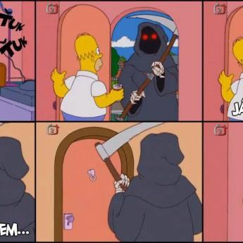 Homer a smrť
