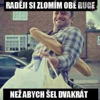 Z nákupu :D