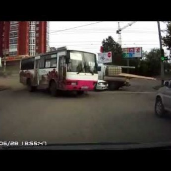 Neovládateľný autobus