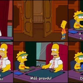 Homer riadi firmu