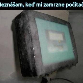 Zamrznutý počítač