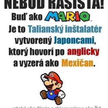 Nebuď rasista!