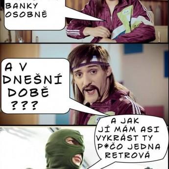 Chodíte do banky osobne? :D