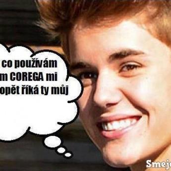 Justin vs. Corega :D