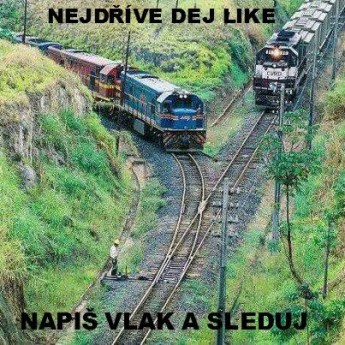 Sleduj vlak