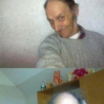 Dedko na Facebooku