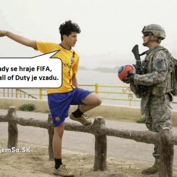 FIFA vs. Call of Duty