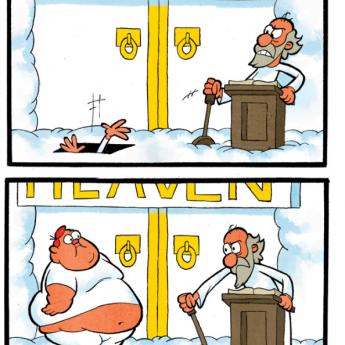 Naštvaný Boh