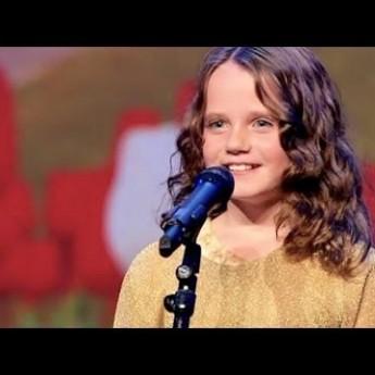 Dievčatko v Holandsko má talent