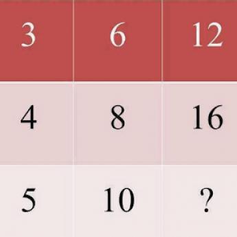 Doplňte číslo namiesto otáznika