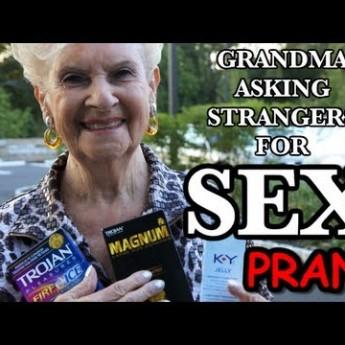 Babička chce sex
