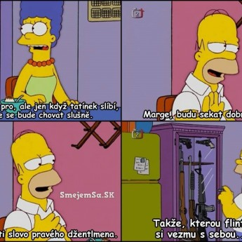 Homer seká dobrotu