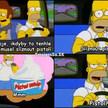 Homerove myšlienky pri hrozbe smrti