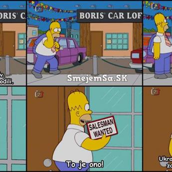 Homera vyhodili z práce