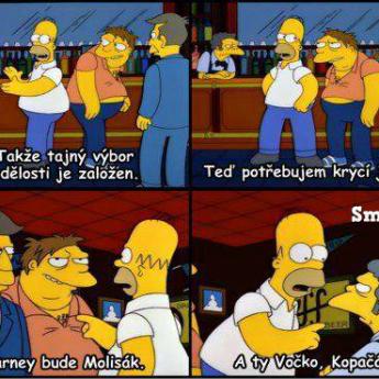 Homer vymýšľa krycie mená