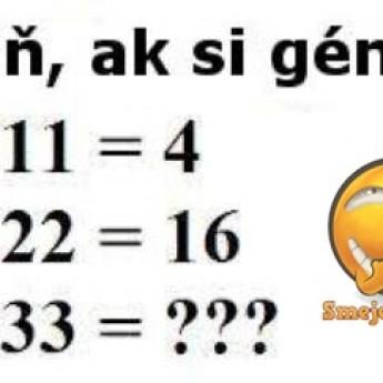 Si génius?