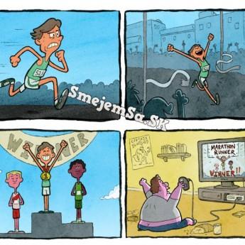 Maratónsky bežec