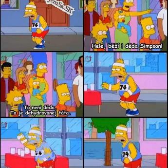 Dedko Abe Simpson či Homer?