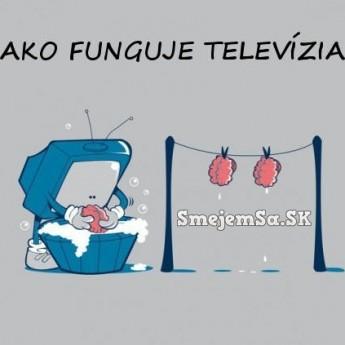 Ako funguje televízia