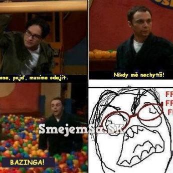 Sheldon a jeho Bazinga