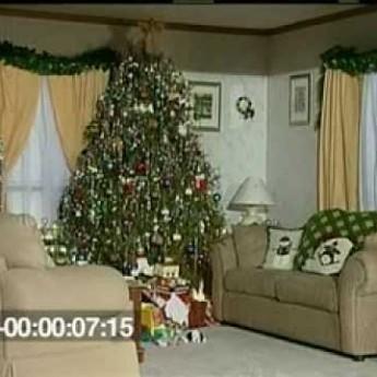 Jak rychle hoří Vánoční stromeček?!