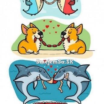 Láska má rôzne podoby