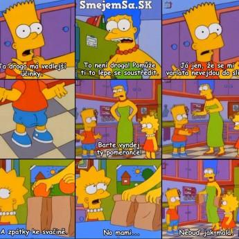 Bart a pomaranče