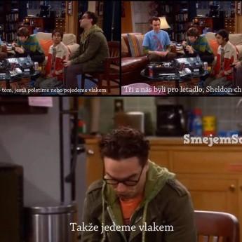 Hlasovanie proti Sheldonovi