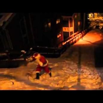 Takto Santa stíha Vianoce