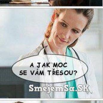 U pani doktorky