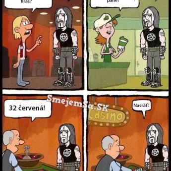 Život blackmetalistu