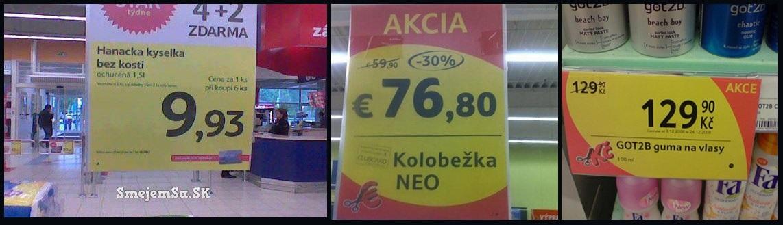 cenovky v tescu