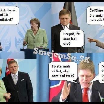 Merkelová vs. Fico