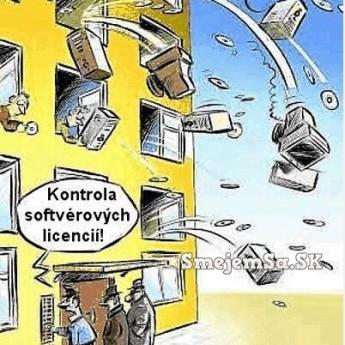 Kontrola softvérových licencií