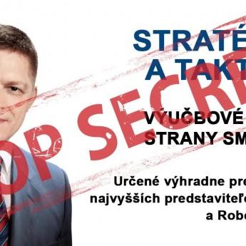 Robert Fico – stratégia a taktika