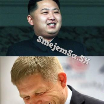 Kim Čong-un posiela odkaz Slovensku