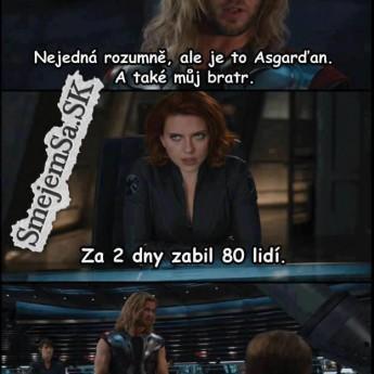 Thor a jeho brat