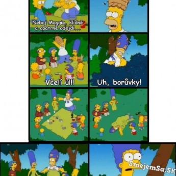 Homer paroduje Marge